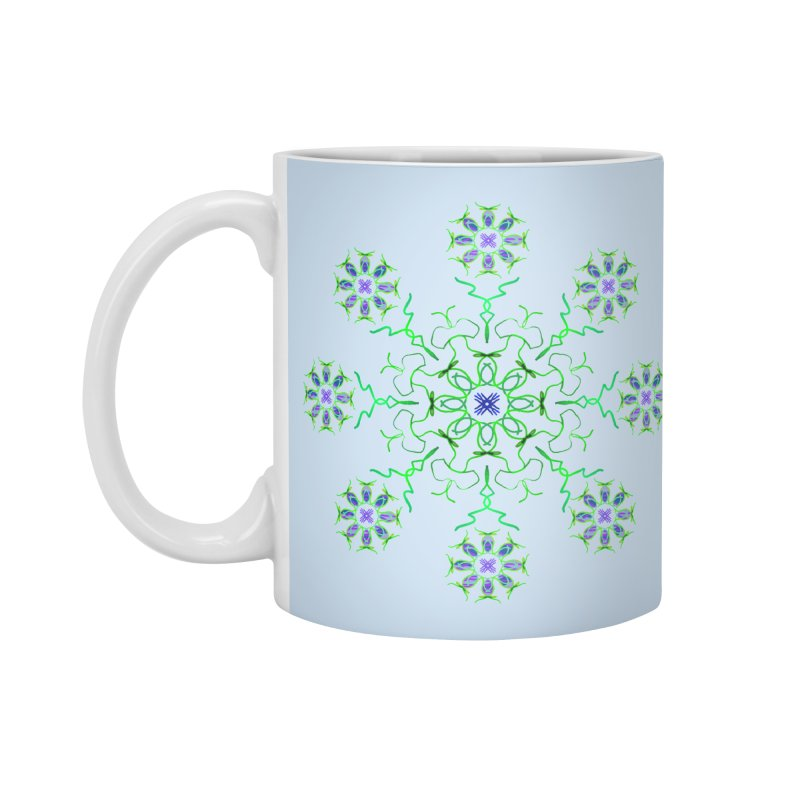 FlowerBurst Accessories Standard Mug by dotdotdottshirts's and textiles Artist Shop