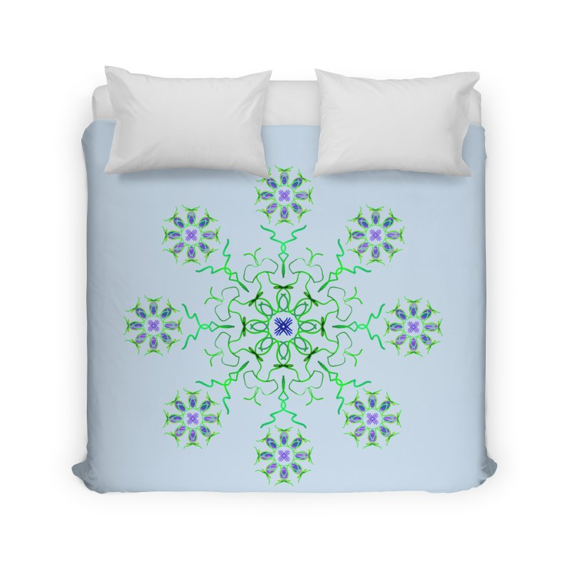 FlowerBurst Home Duvet by dotdotdottshirts's and textiles Artist Shop