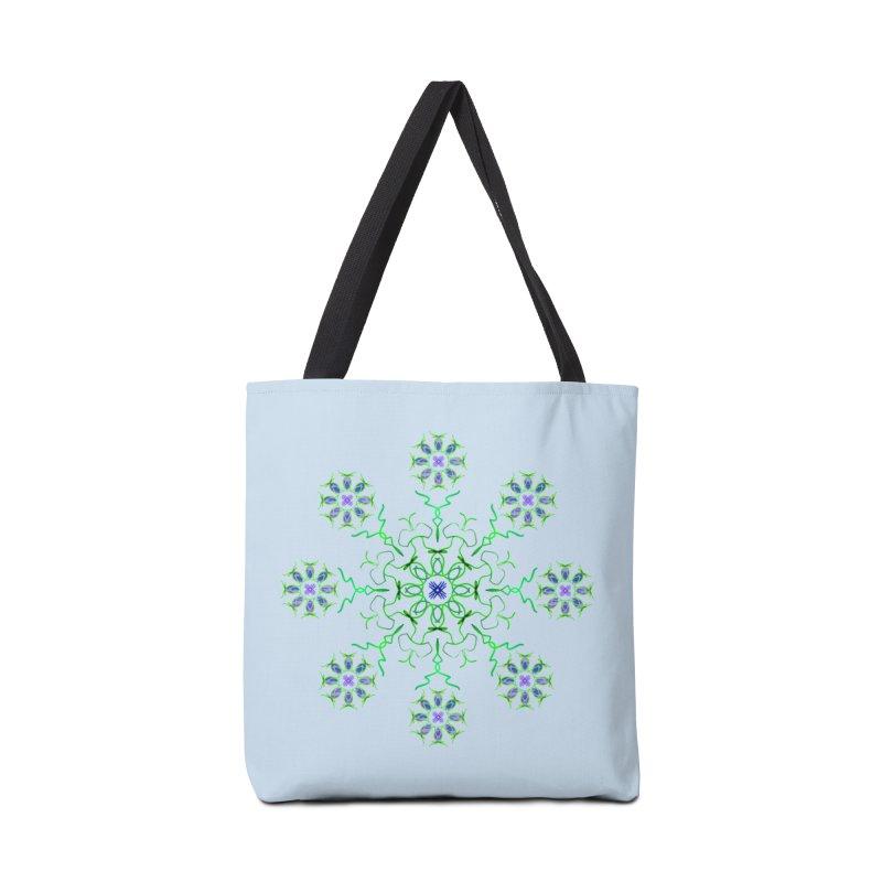 FlowerBurst Accessories Bag by dotdotdottshirts's Artist Shop