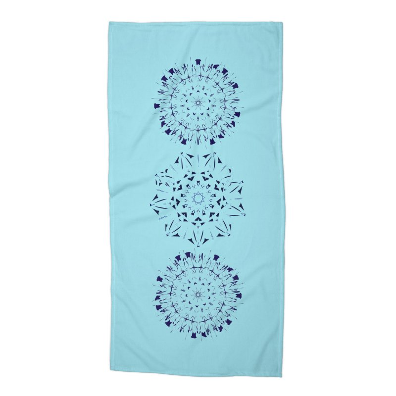 Blues are Cool Accessories Beach Towel by dotdotdottshirts's Artist Shop