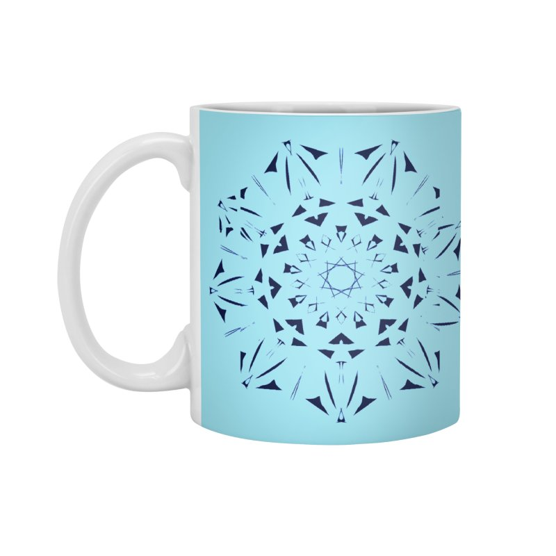 Blues are Cool Accessories Standard Mug by dotdotdottshirts's and textiles Artist Shop
