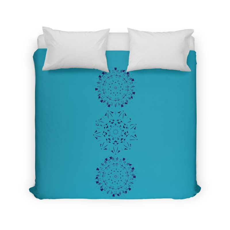 Blues are Cool too Home Duvet by dotdotdottshirts's Artist Shop