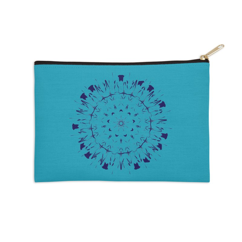Blues are Cool too Accessories Zip Pouch by dotdotdottshirts's and textiles Artist Shop