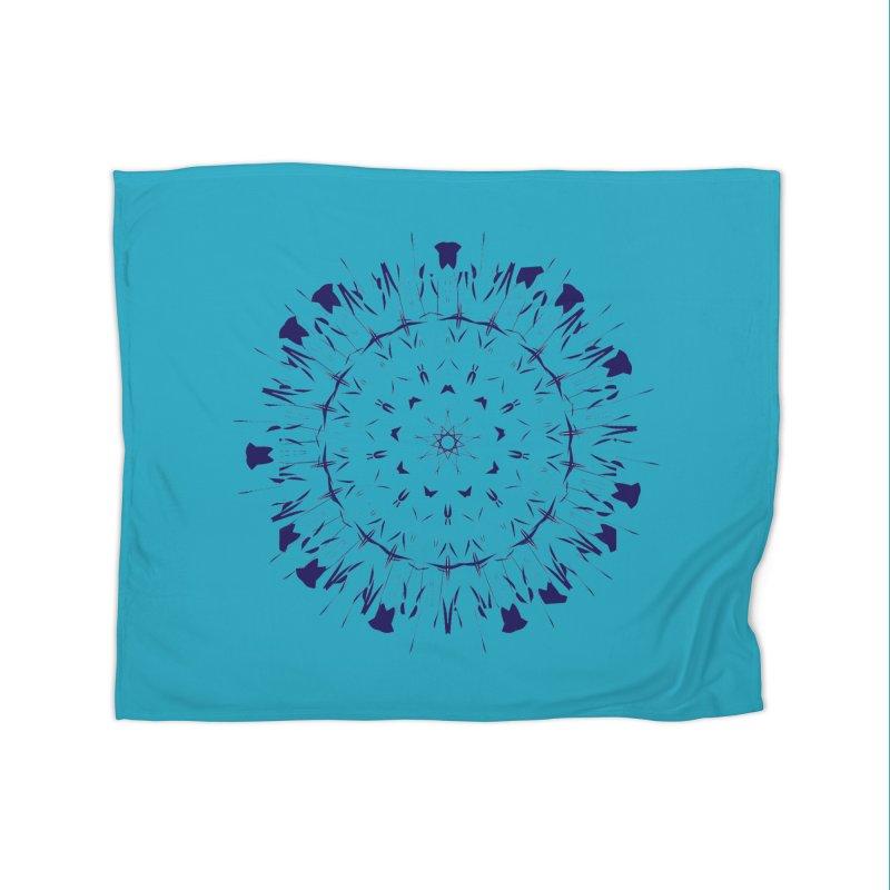 Blues are Cool too Home Blanket by dotdotdottshirts's Artist Shop