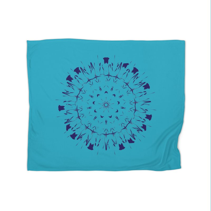 Blues are Cool too Home Blanket by dotdotdottshirts's Artist Shop