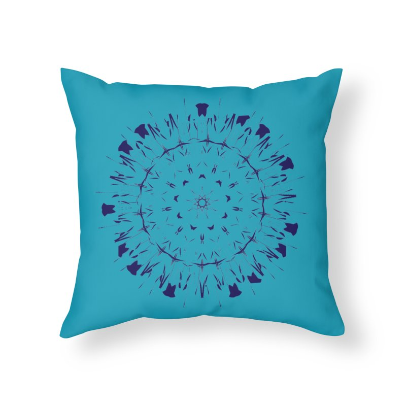 Blues are Cool too Home Throw Pillow by dotdotdottshirts's Artist Shop