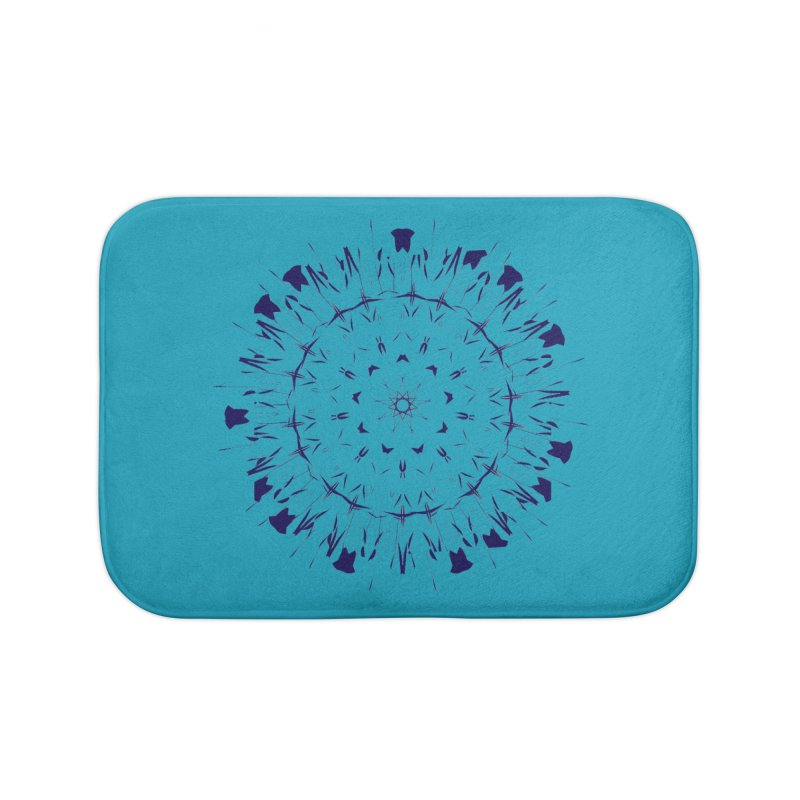 Blues are Cool too Home Bath Mat by dotdotdottshirts's Artist Shop