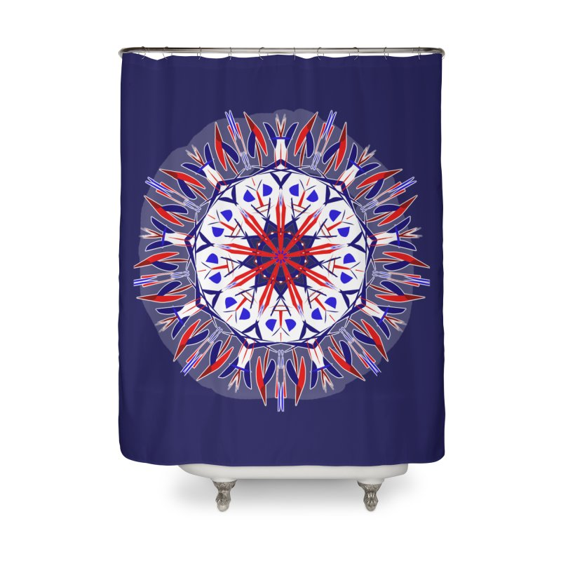 J4 Flame Home Shower Curtain by dotdotdottshirts's Artist Shop