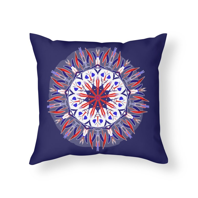 J4 Flame Home Throw Pillow by dotdotdottshirts's Artist Shop