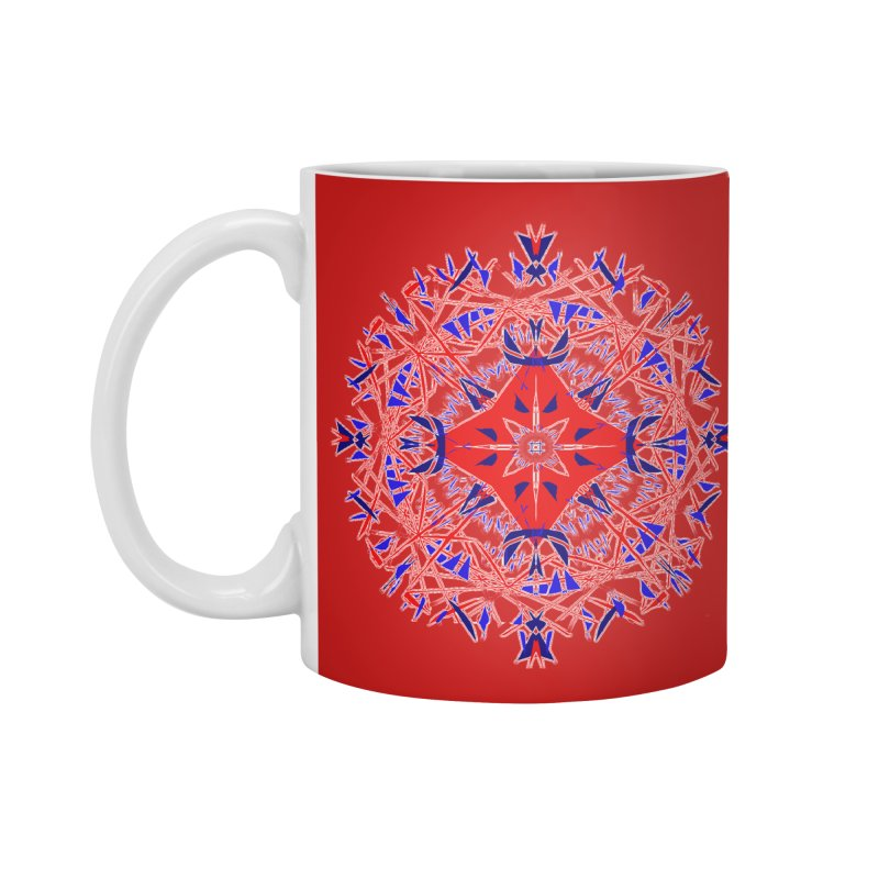 J4 Red Accessories Mug by dotdotdottshirts's Artist Shop