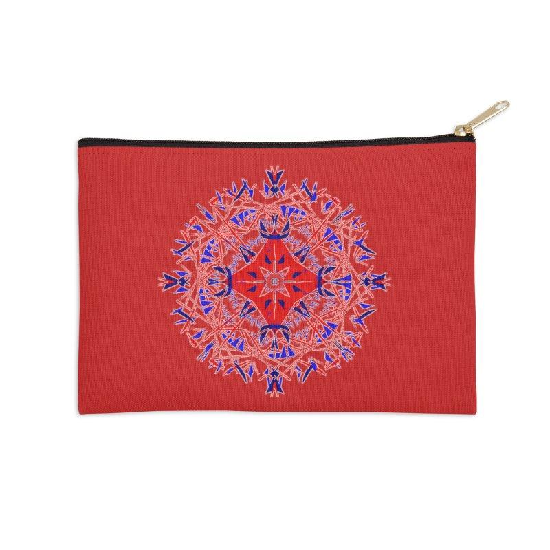 J4 Red Accessories Zip Pouch by dotdotdottshirts's Artist Shop