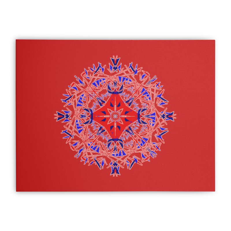 J4 Red Home Stretched Canvas by dotdotdottshirts's Artist Shop