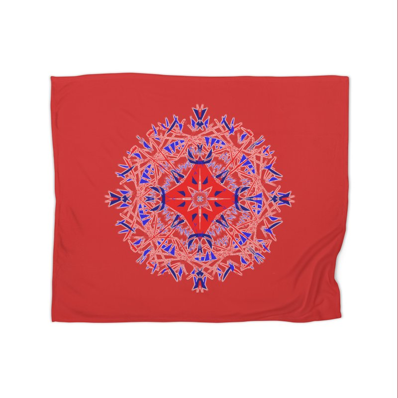J4 Red Home Blanket by dotdotdottshirts's Artist Shop