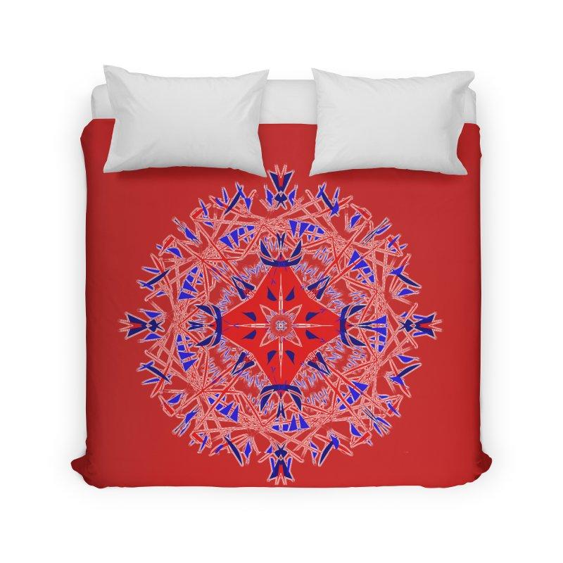 J4 Red Home Duvet by dotdotdottshirts's Artist Shop