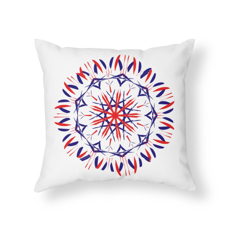 J4 White Home Throw Pillow by dotdotdottshirts's Artist Shop