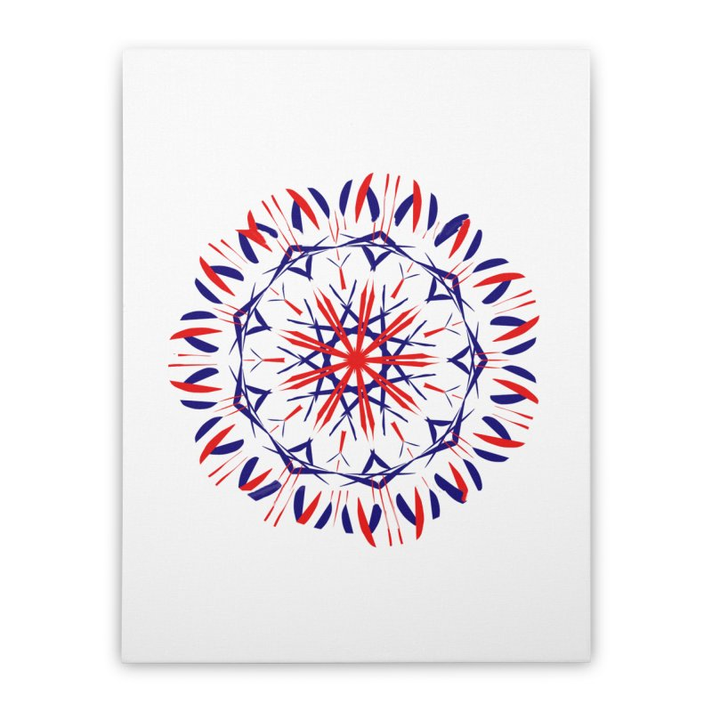 J4 White Home Stretched Canvas by dotdotdottshirts's Artist Shop