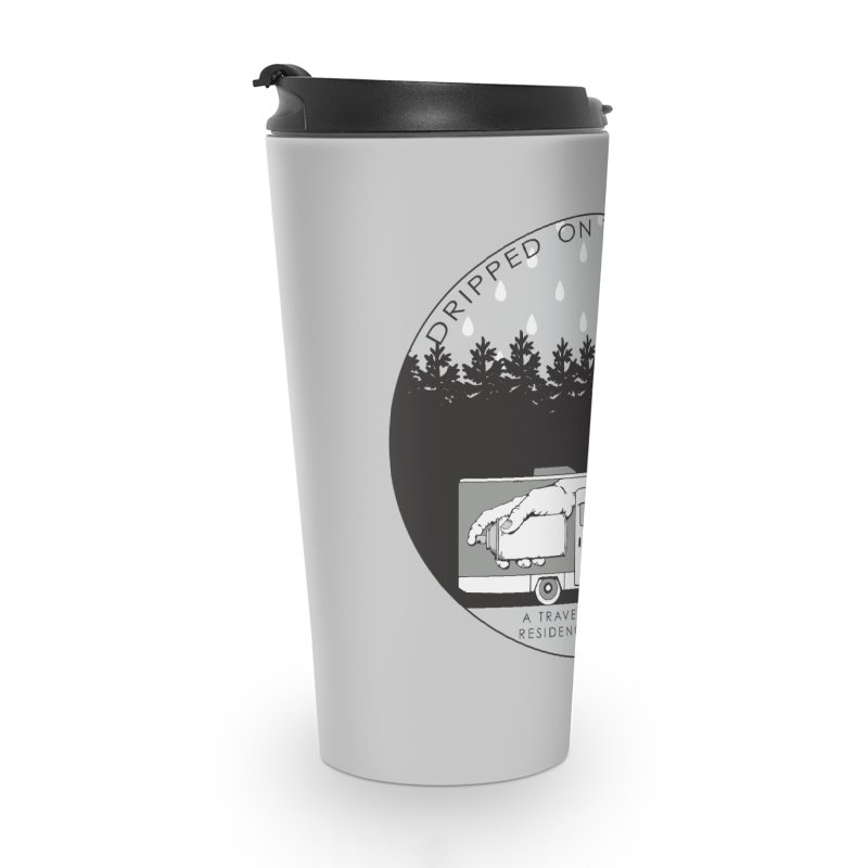 DOTR Logo Grey Accessories Travel Mug by Dripped On The Road Artist Shop