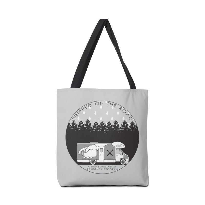 DOTR Logo Grey Accessories Tote Bag Bag by Dripped On The Road Artist Shop