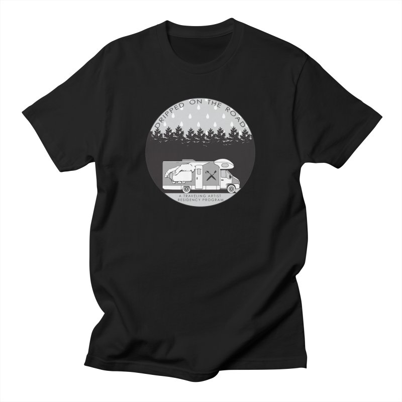 DOTR Logo Grey Men's T-Shirt by Dripped On The Road Artist Shop