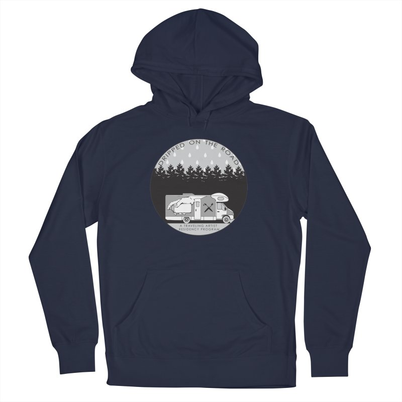 DOTR Logo Grey Women's French Terry Pullover Hoody by Dripped On The Road Artist Shop