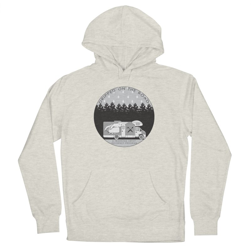 DOTR Logo Grey Men's French Terry Pullover Hoody by Dripped On The Road Artist Shop