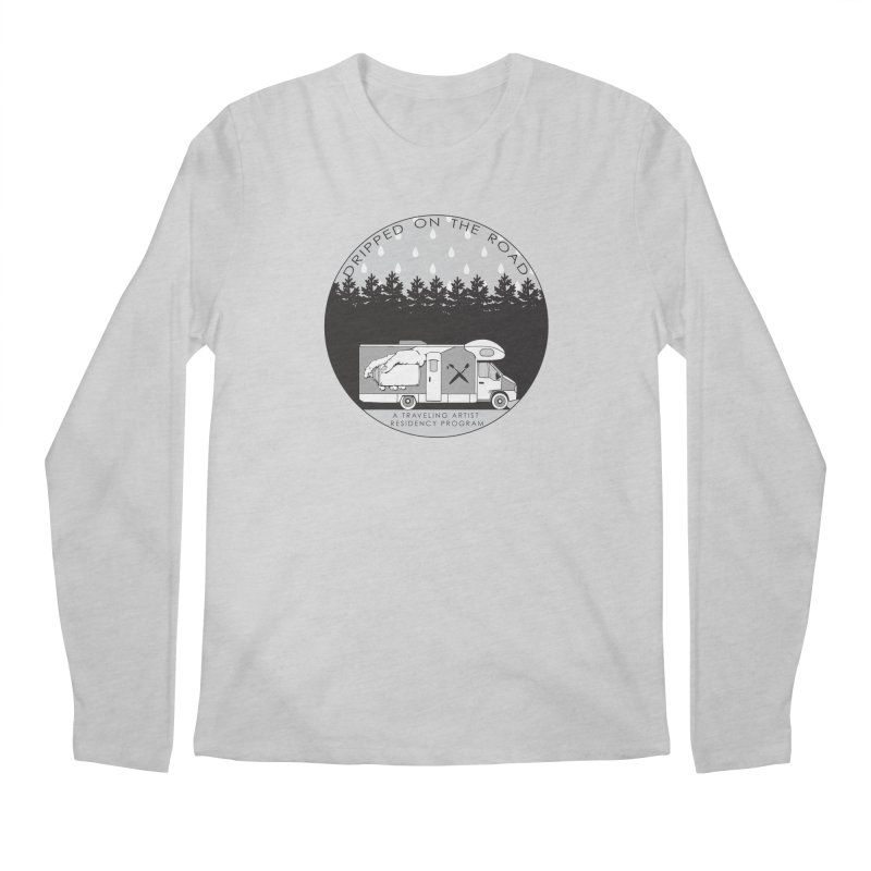 DOTR Logo Grey Men's Longsleeve T-Shirt by Dripped On The Road Artist Shop