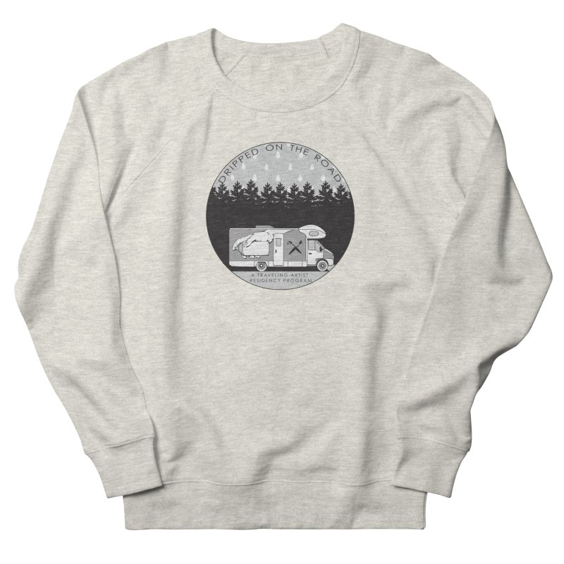 DOTR Logo Grey Men's French Terry Sweatshirt by Dripped On The Road Artist Shop