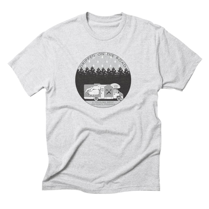 DOTR Logo Grey Men's Triblend T-Shirt by Dripped On The Road Artist Shop