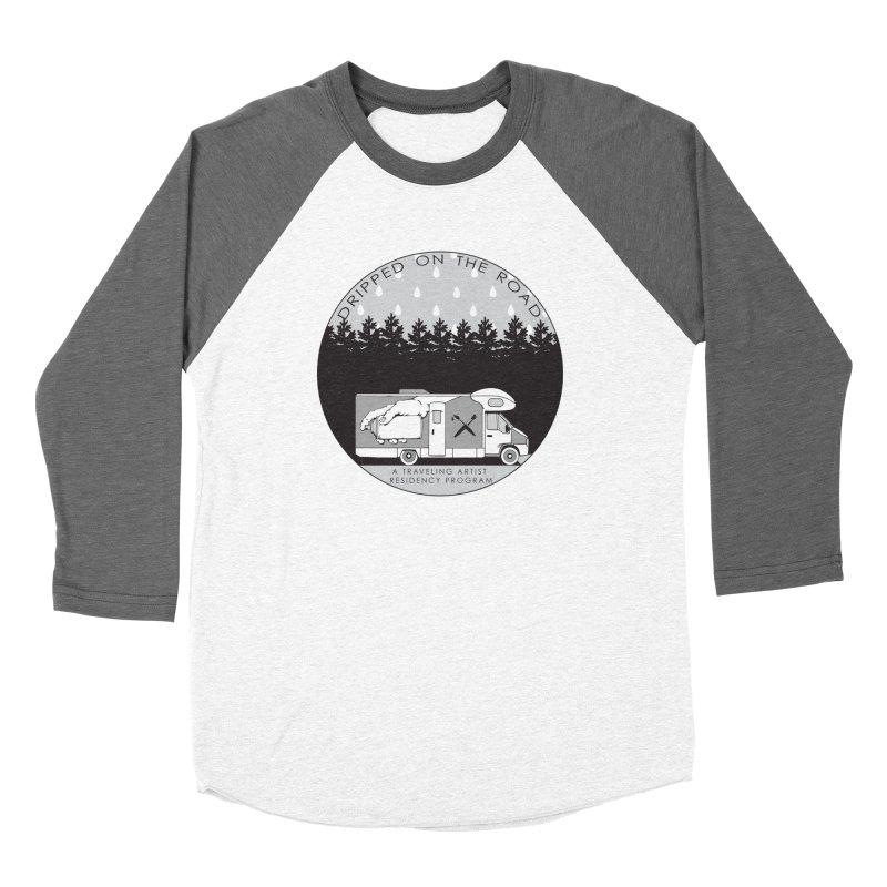 DOTR Logo Grey Women's Baseball Triblend Longsleeve T-Shirt by Dripped On The Road Artist Shop