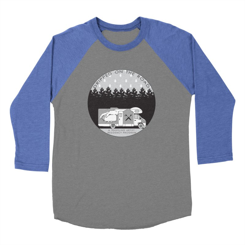 DOTR Logo Grey Men's Baseball Triblend Longsleeve T-Shirt by Dripped On The Road Artist Shop