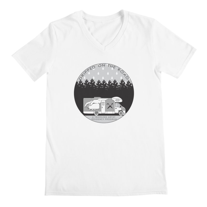 DOTR Logo Grey Men's V-Neck by Dripped On The Road Artist Shop