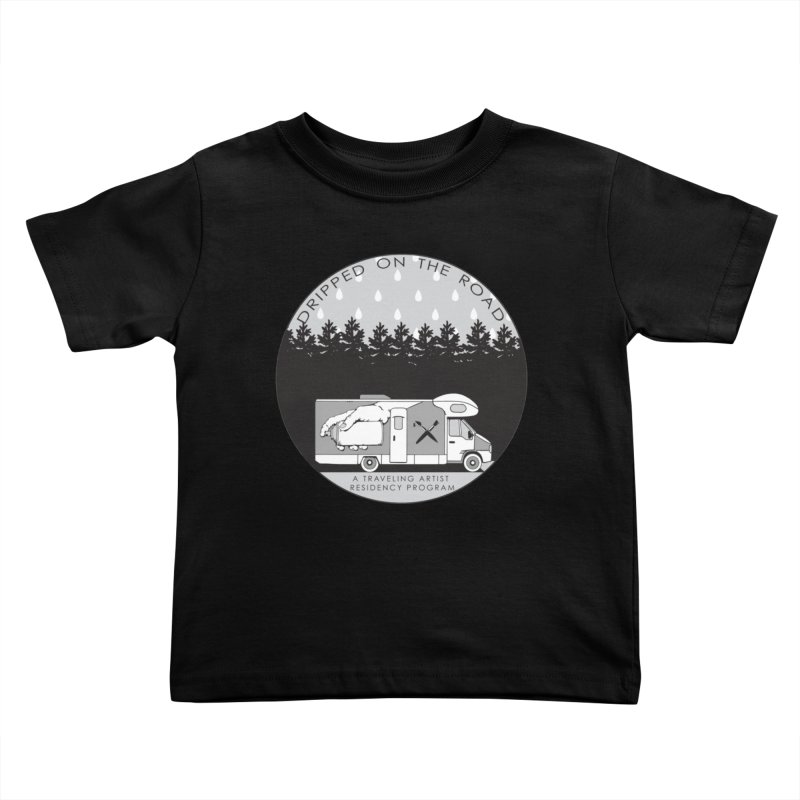 DOTR Logo Grey Kids Toddler T-Shirt by Dripped On The Road Artist Shop