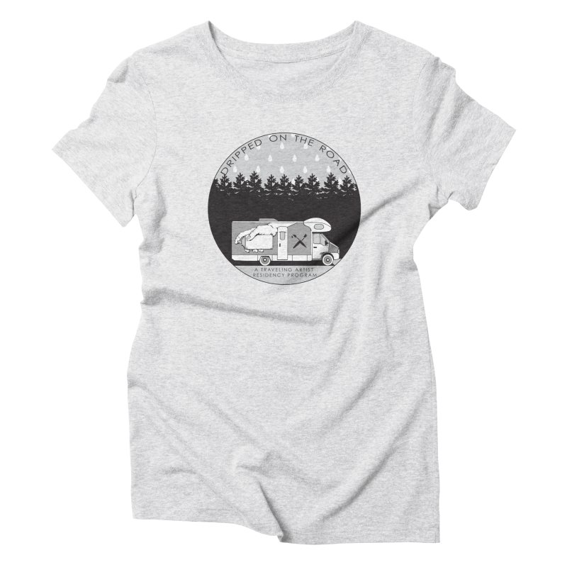 DOTR Logo Grey Women's T-Shirt by Dripped On The Road Artist Shop