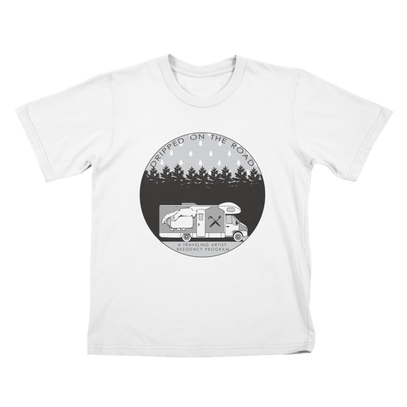 DOTR Logo Grey Kids T-Shirt by Dripped On The Road Artist Shop