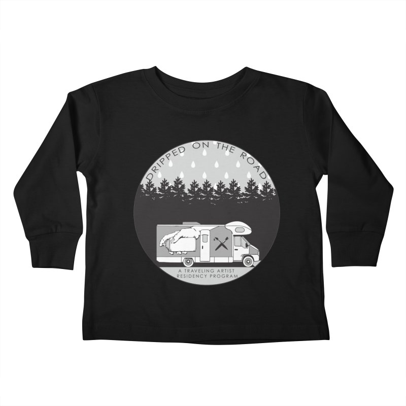 DOTR Logo Grey Kids Toddler Longsleeve T-Shirt by Dripped On The Road Artist Shop