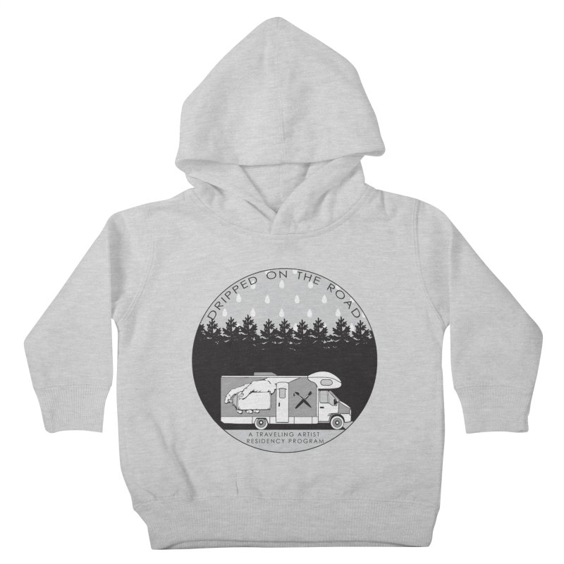 DOTR Logo Grey Kids Toddler Pullover Hoody by Dripped On The Road Artist Shop