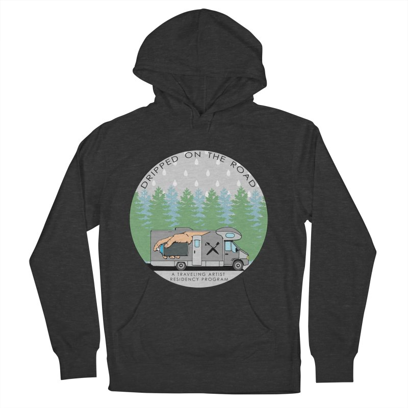 Dripped On The Road Logo Women's French Terry Pullover Hoody by Dripped On The Road Artist Shop