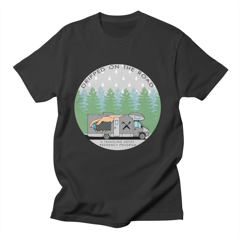 Dripped On The Road Logo Men's T-Shirt by Dripped On The Road Artist Shop