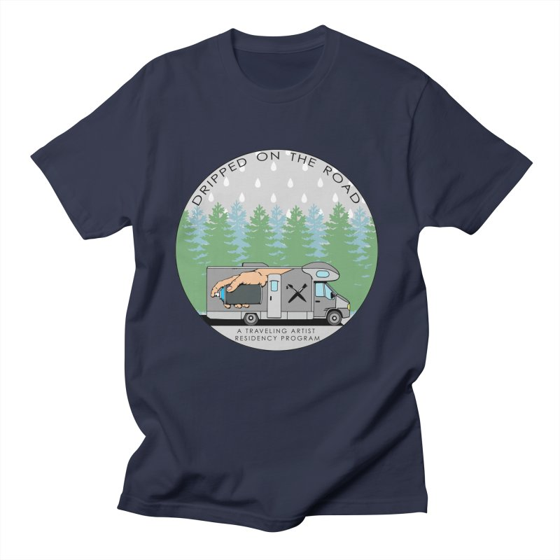 Dripped On The Road Logo Men's Regular T-Shirt by Dripped On The Road Artist Shop
