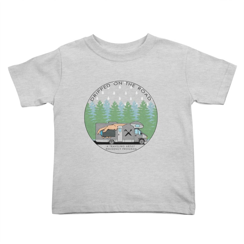 Dripped On The Road Logo Kids Toddler T-Shirt by Dripped On The Road Artist Shop