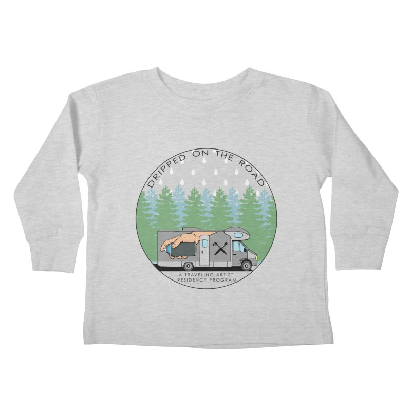 Dripped On The Road Logo Kids Toddler Longsleeve T-Shirt by Dripped On The Road Artist Shop