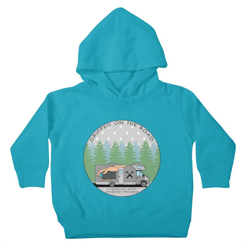 Dripped On The Road Logo Kids Toddler Pullover Hoody by Dripped On The Road Artist Shop