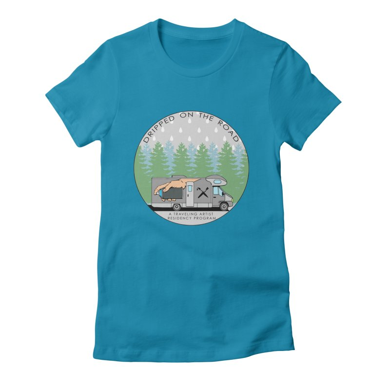 Dripped On The Road Logo Women's T-Shirt by Dripped On The Road Artist Shop