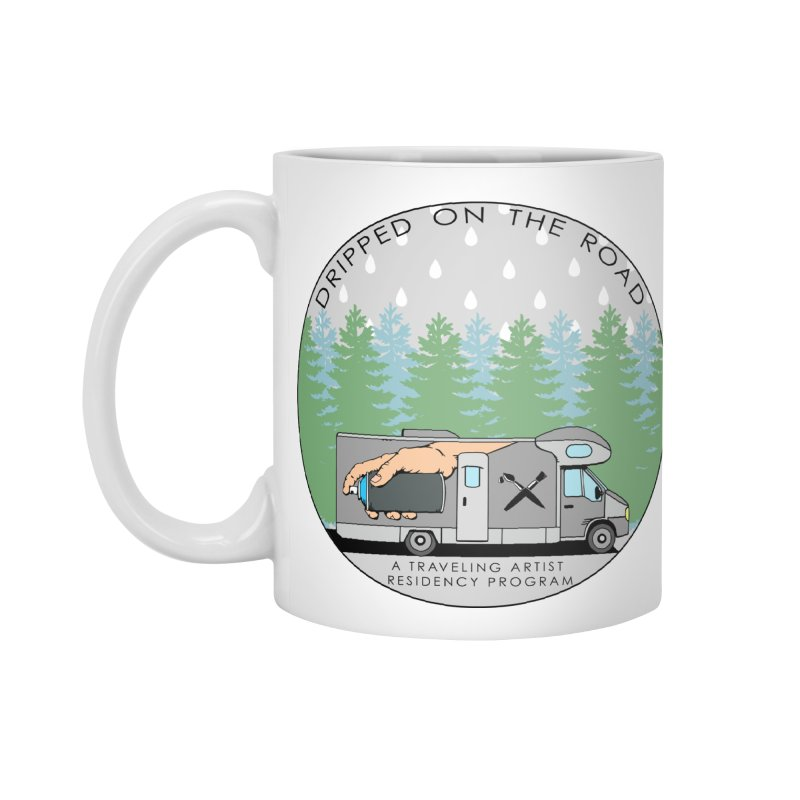 Dripped On The Road Logo Accessories Mug by Dripped On The Road Artist Shop