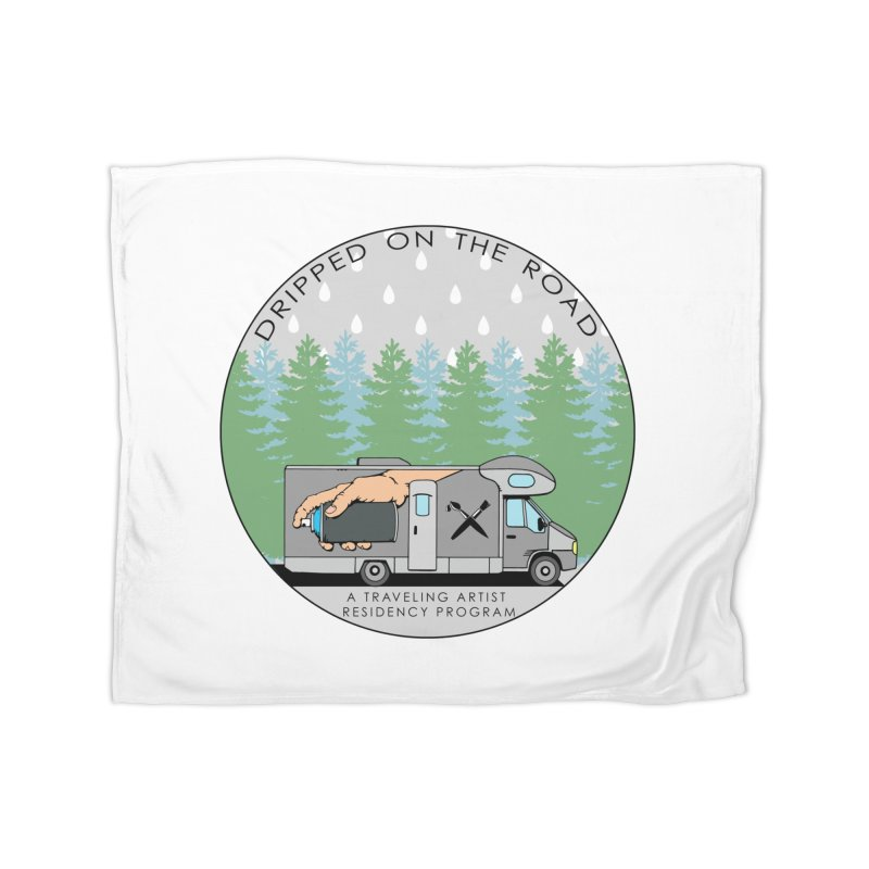 Dripped On The Road Logo Home Blanket by Dripped On The Road Artist Shop
