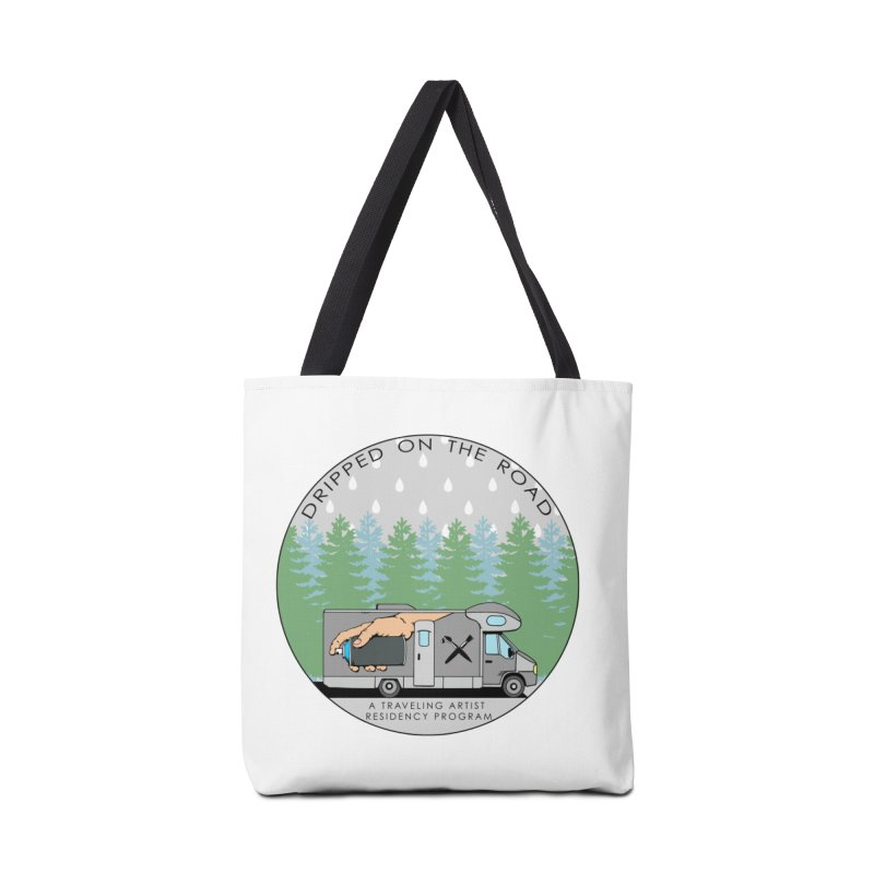 Dripped On The Road Logo Accessories Tote Bag Bag by Dripped On The Road Artist Shop
