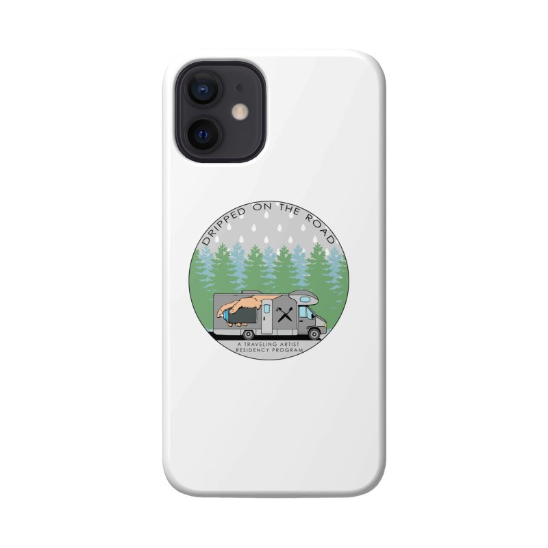 Dripped On The Road Logo Accessories Phone Case by Dripped On The Road Artist Shop