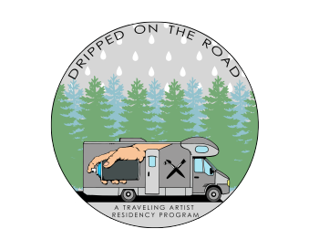 Dripped On The Road Artist Shop Logo