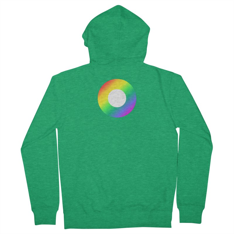 The Rainbow Collection Men's Zip-Up Hoody by Dot HQ
