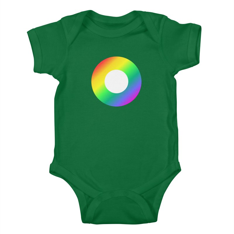 The Rainbow Collection Kids Baby Bodysuit by Dot HQ